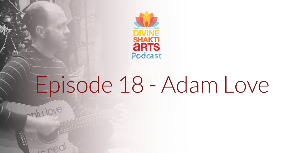 Adam Love podcast flyer